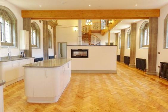 Completed Grade II listed Church conversion in Truro, Cornwall.