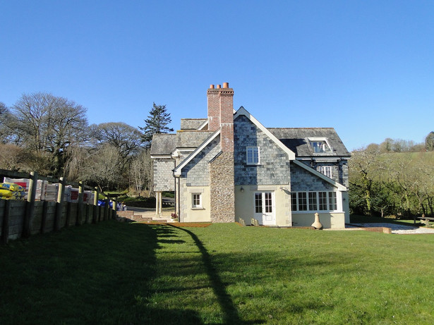 Original house before extension and conservatory