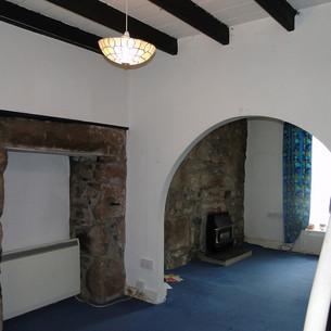 Original ground floor interior before renovation.