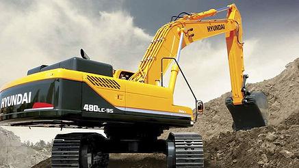 Hyundai 480 excavator