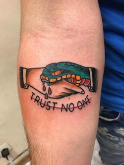 Tattoo by Martin Galabov