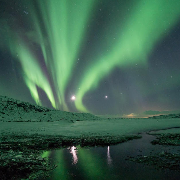 """Hunt for the elusive northern lights and discover fascinating Finland, """"Daughter of the Baltic."""""""