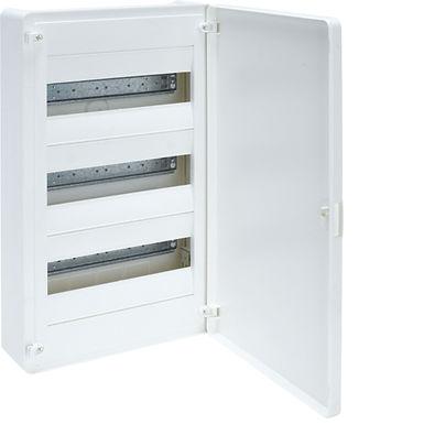 Щит з/у з білими дверцятами, 36 мод. (3х12), GOLF