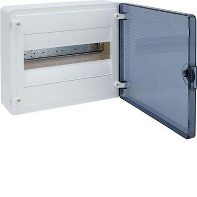 Щит з/у з  прозорими дверцятами, 12 мод. (1х12), GOLF