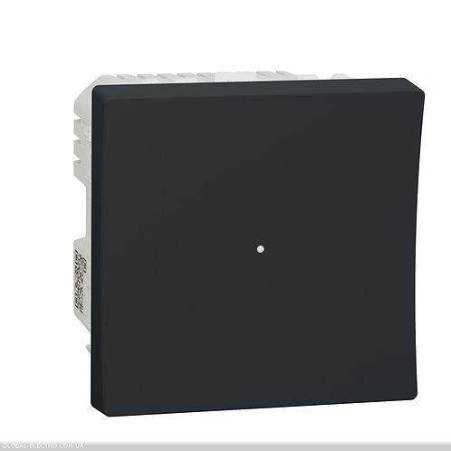 NU351554 Wiser Універсальний кнопковий димер для LED ламп антрацит