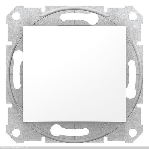 SDN0700121 Кнопочный выключатель SEDNA БЕЛЫЙ