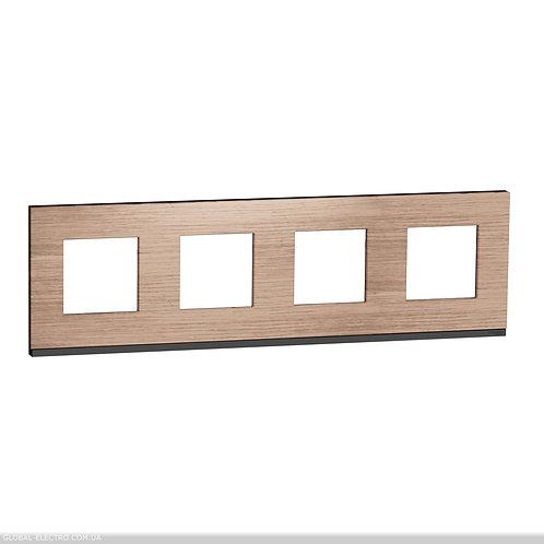 NU600884 Рамка 4-постова, горизонтальна, Дуб/антрацит