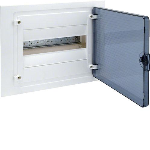 Щит в/у з  прозорими дверцятами, 12 мод. (1х12), GOLF