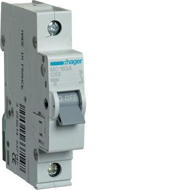 Автоматичний вимикач 1P 6kA C-63A 1M