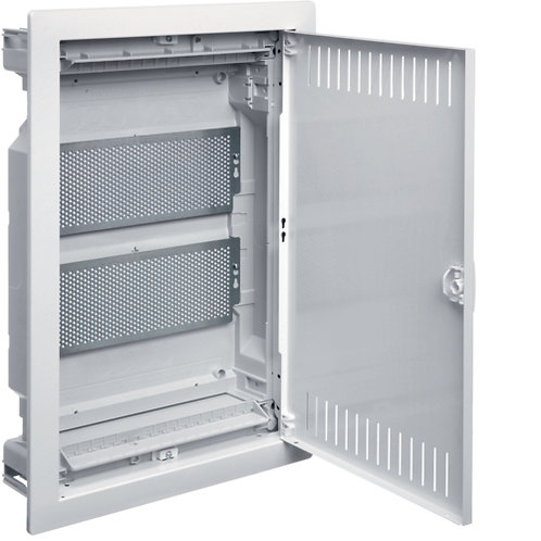 Щит 2-рядний для ММ-обладнання, в/у з металевими дверями, VOLTA