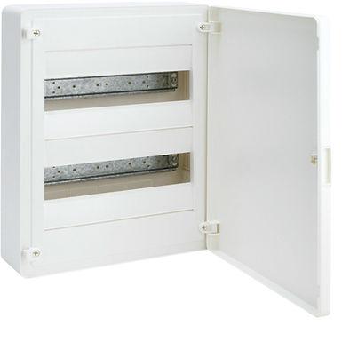 Щит з/у з білими дверцятами, 24 мод. (2х12), GOLF