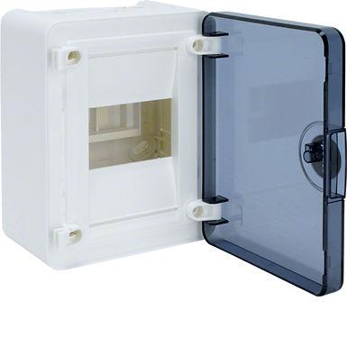 Щит з/у з  прозорими дверцятами, 4 мод. (1х4), GOLF
