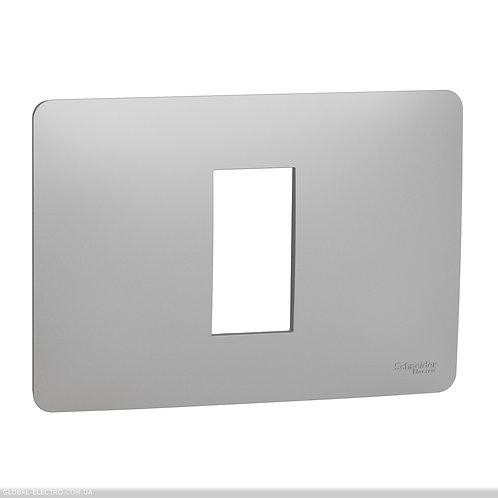 NU210130 Рамка 1 модульна Unica Studio алюміній
