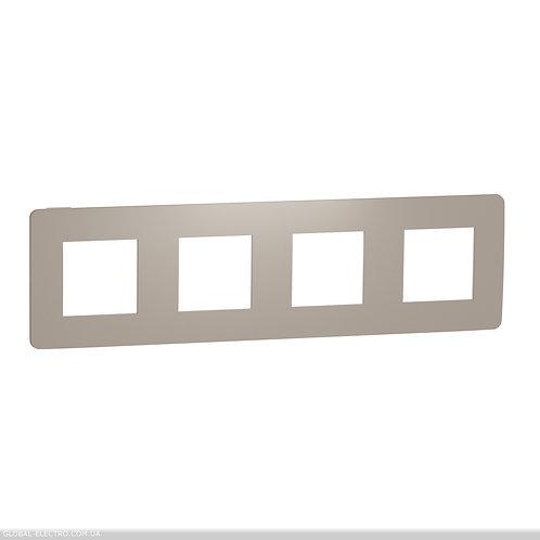 NU280826 Рамка 4-постова, Пісочний/білий