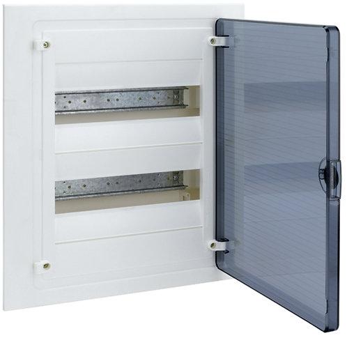 Щит в/у з  прозорими дверцятами, 24 мод. (2х12), GOLF