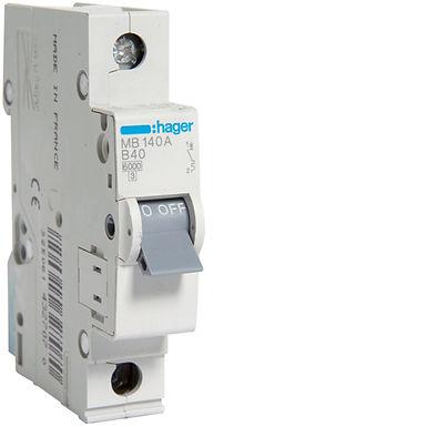 Автоматичний вимикач 1P 6kA B-40A 1M