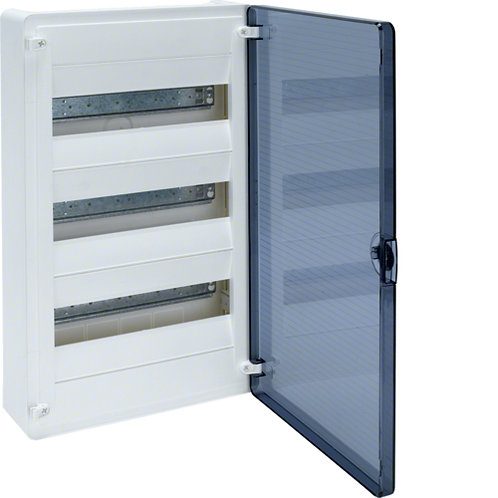 Щит з/у з  прозорими дверцятами, 36 мод. (3х12), GOLF