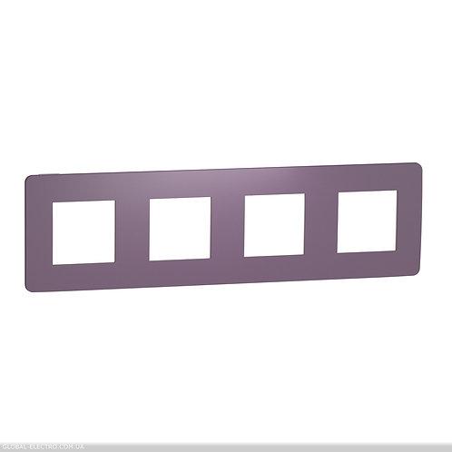 NU280815 Рамка 4-постова, Ліловий/бежевий