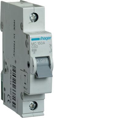 Автоматичний вимикач 1P 6kA C-50A 1M