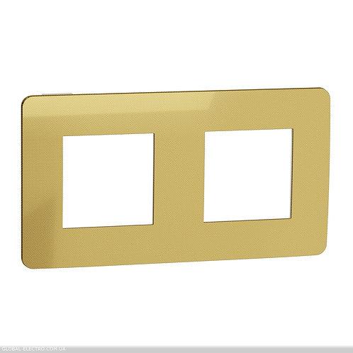 NU280459 Рамка 2-постова, Золото/білий