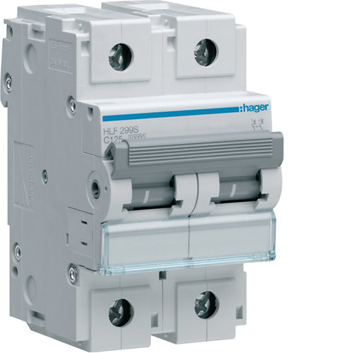 Автоматичний вимикач 2P 10kA C-125A 3M