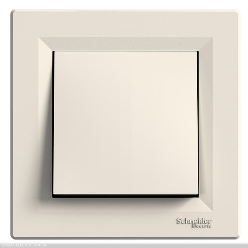 EPH0700123 Кнопочный выключатель, самозажимные, КРЕМ ASFORA