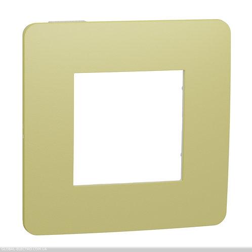 NU280211 Рамка 1-постова, Зелене Яблуко/білий