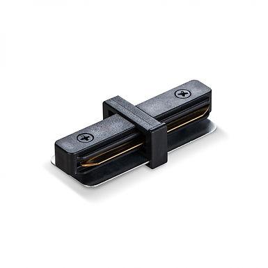 Соединитель для шинопроводов прямой VIDEX VL-TRF-CTI-B черный