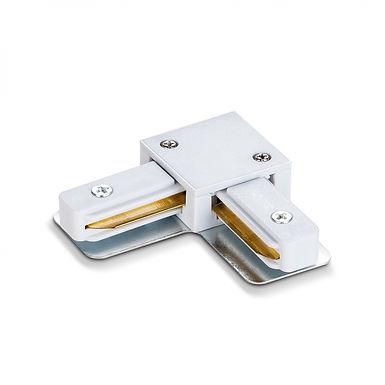 Соединитель для шинопроводов угловой VIDEX VL-TRF-CTL-W белый