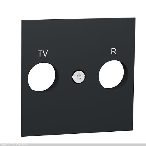 NU944030 Центральна плата розетки TV/FM алюміній