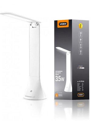LED лампа настольная VIDEX  VL-TF01W 3.5 W 4100K 5V(20шт/ящ)