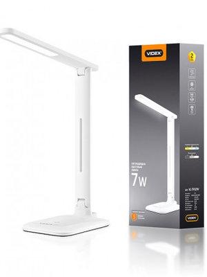 LED лампа настольная VIDEX  VL-TF02W 7W 3000-5500K 220V(16шт/ящ)