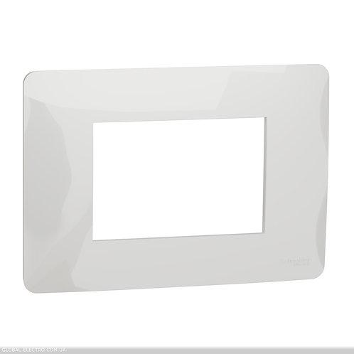 NU210318 Рамка 3-модульна, білий
