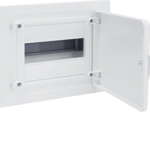 Щит в/у з білими дверцятами, 8 мод. (1х8), GOLF