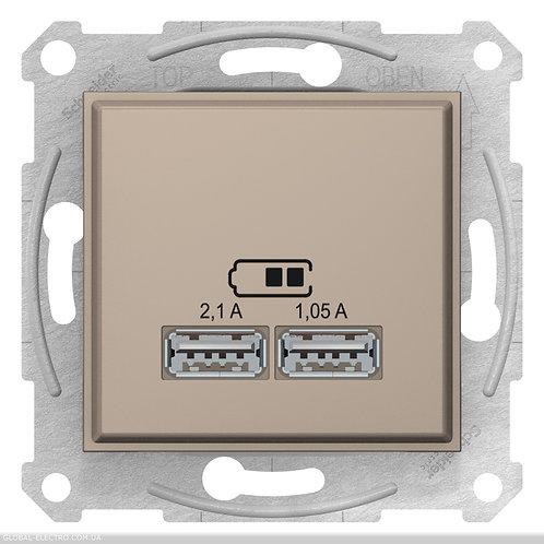 SDN2710268 USB РОЗЕТКА SEDNA 2,1A ТИТАН