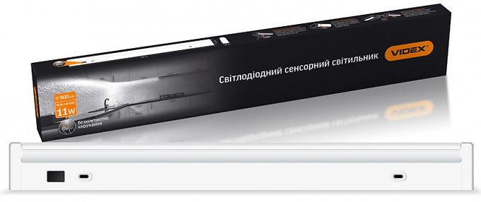 LED светильник линейный поворотный с сенсором VIDEX 11W 0,6М 5000K 220V