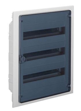 Щит в/у з  прозорими дверцятами, 54 мод. (3х18), GOLF