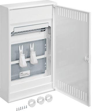 Щит 3-рядний для ММ-обладнання, з/у з металевими дверями, VOLTA