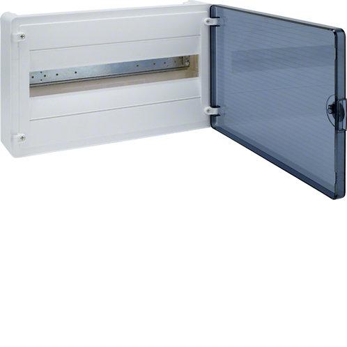 Щит з/у з  прозорими дверцятами, 18 мод. (1х18), GOLF