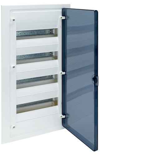 Щит в/у з  прозорими дверцятами, 48 мод. (4х12), GOLF