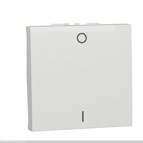 NU326218 Двополюсний вимикач 16А 2 модуль білий