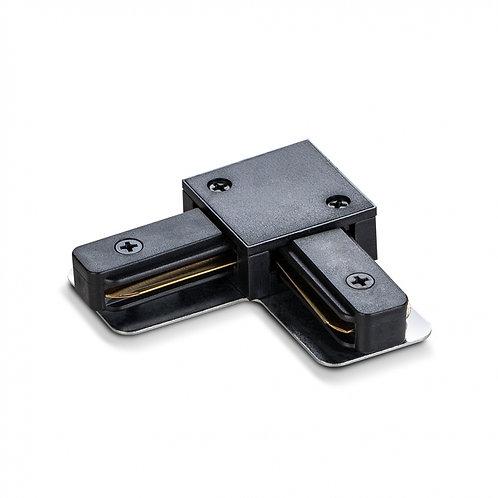 Соединитель для шинопроводов угловой VIDEX VL-TRF-CTL-B черный