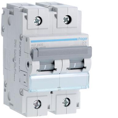 Автоматичний вимикач 2P 10kA C-100A 3M
