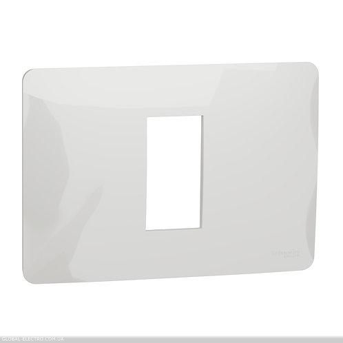 NU210118 Рамка 1 модульна Unica Studio біла
