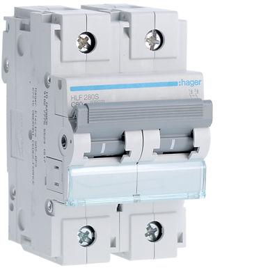 Автоматичний вимикач 2P 10kA C-80A 3M