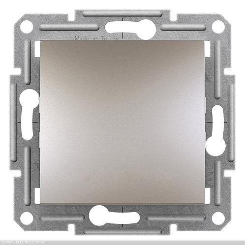 EPH0700169 Кнопочный выключатель, самозажимные, ASFORA БРОНЗА