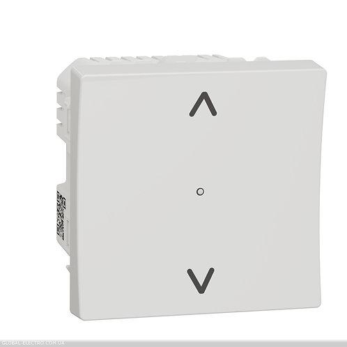 NU350818 Wiser Управляючий перемикач жалюзі білий