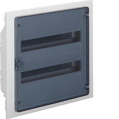 Щит в/у з  прозорими дверцятами, 36 мод. (2х18), GOLF