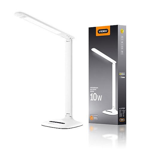 LED лампа настольная VIDEX  VL-TF06W 10W 3000-5500K 220V