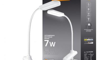 LED лампа настольная VIDEX  VL-TF09W 7W 3000-5500K 220V(12шт/ящ)